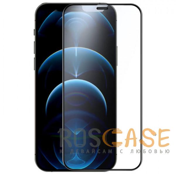 Фото Черное Nillkin FogMirror | Защитное матовое закаленное стекло для iPhone 12 Pro Max