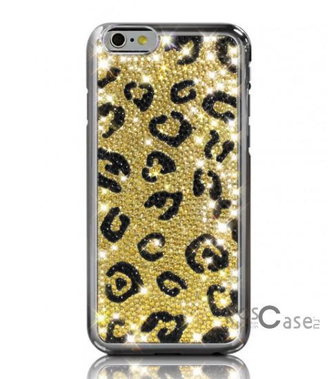"Фото Ягуар Dreamplus Safari | Чехол для Apple iPhone 6/6s (4.7"") со стразами"