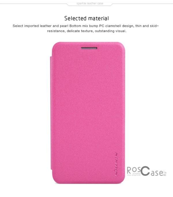 Кожаный чехол (книжка) Nillkin Sparkle Series для Samsung A300H / A300F Galaxy A3 (Розовый)Описание:Изготовлен компанией&amp;nbsp;Nillkin;Спроектирован персонально для Samsung A300H / A300F Galaxy A3;Материал: синтетическая высококачественная кожа и поликарбонат;Форма: чехол в виде книжки.Особенности:Исключается появление царапин и возникновение потертостей;Восхитительная амортизация при любом ударе;Функция Sleep mode;Фактурная поверхность;Не подвержен деформации;Непритязателен в уходе.<br><br>Тип: Чехол<br>Бренд: Nillkin<br>Материал: Искусственная кожа