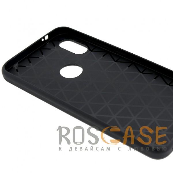 Фотография Светло-коричневый ILEVEL | Чехол с кожаным покрытием и с карманом-визитницей для Xiaomi Redmi Note 5 Pro / Note 5 (AI Dual Camera)
