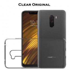 TPU чехол Clear Original для Xiaomi Pocophone F1