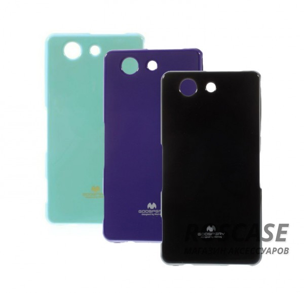 фото TPU чехол Mercury Jelly Color series для Sony Xperia Z3 Compact