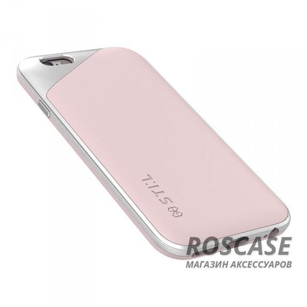 """Фото Розовый STIL Masquerade   Чехол для Apple iPhone 6/6s (4.7"""") с металлизированным защитным уголком вокруг камеры"""