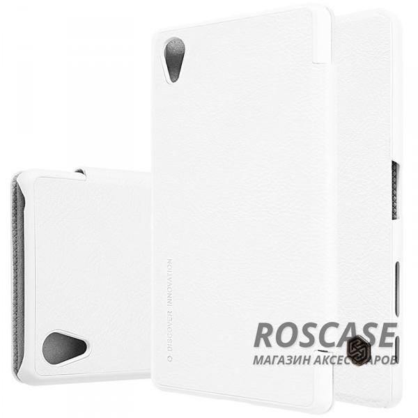 Кожаный чехол (книжка) Nillkin Qin Series для Sony Xperia X / Xperia X Dual (Белый)Описание:производитель:&amp;nbsp;Nillkin;совместим с Sony Xperia X / Xperia X Dual;материал: натуральная кожа;тип: чехол-книжка.&amp;nbsp;Особенности:слот для карточек;ультратонкий;фактурная поверхность;внутренняя отделка микрофиброй.<br><br>Тип: Чехол<br>Бренд: Nillkin<br>Материал: Натуральная кожа