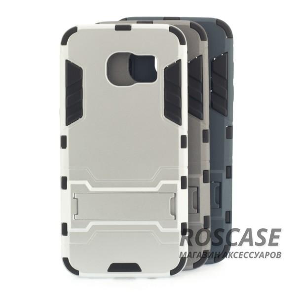 Ударопрочный чехол-подставка Transformer для Samsung G935F Galaxy S7 Edge с мощной защитой корпусаОписание:подходит для Samsung G935F Galaxy S7 Edge;материалы: термополиуретан, поликарбонат;формат: накладка.&amp;nbsp;Особенности:функциональные вырезы;функция подставки;двойная степень защиты;защита от механических повреждений;не скользит в руках.<br><br>Тип: Чехол<br>Бренд: Epik<br>Материал: TPU