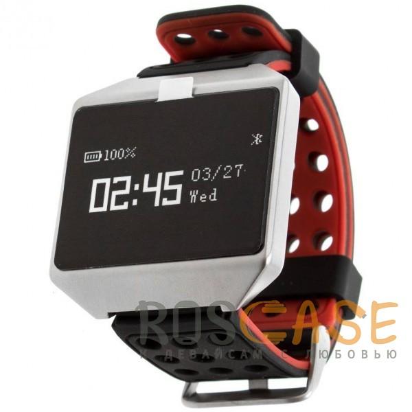 Фото Черный / Красный Часы CK12 Pro с измерением давления и пульса
