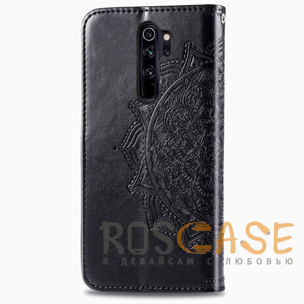 Изображение Черный Кожаный чехол (книжка) Art Case с визитницей для Xiaomi Redmi Note 8 Pro