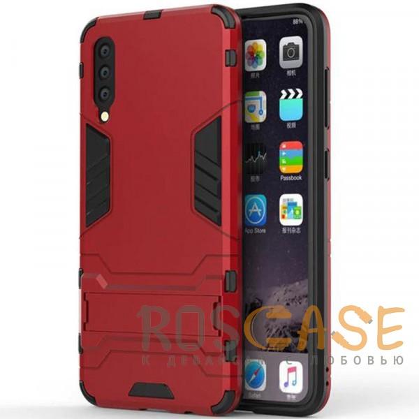 Фотография Красный / Dante Red Transformer | Противоударный чехол для Samsung A705F Galaxy A70 с мощной защитой корпуса