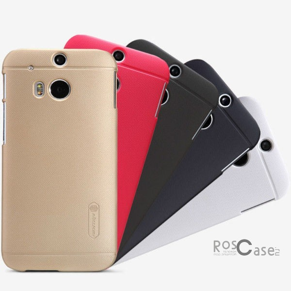 Чехол Nillkin Matte для HTC New One 2 / M8 (+ пленка)Описание:Чехол изготовлен компанией&amp;nbsp;Nillkin;Спроектирован для модели смартфона HTC New One 2 / M8;При изготовлении использовался пластик;Форма  -  накладка.Особенности:Изысканный и стильный дизайн;Ультратонкая структура;Исключена возможность появления царапин и потертостей;Разнообразная цветовая палитра;В комплекте находится защитная пленка.<br><br>Тип: Чехол<br>Бренд: Nillkin<br>Материал: Поликарбонат