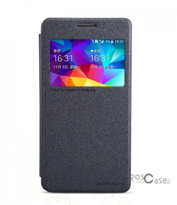 Кожаный чехол (книжка) Nillkin Sparkle Series для Samsung G530H/G531H Galaxy Grand Prime (Черный)Описание:Изготовлен компанией&amp;nbsp;Nillkin;Спроектирован персонально для Samsung G530H/G531H Galaxy Grand Prime;Материал: синтетическая высококачественная кожа и полиуретан;Форма: чехол в виде книжки.Особенности:Исключается появление царапин и возникновение потертостей;Восхитительная амортизация при любом ударе;Фактурная поверхность;Элегантное окошко;Не подвержен деформации;Непритязателен в уходе.<br><br>Тип: Чехол<br>Бренд: Nillkin<br>Материал: Искусственная кожа