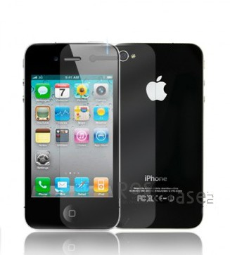 фото защитная пленка Nillkin Crystal для Apple iPhone 4/4S