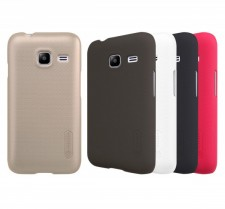 фото Матовый чехол Nillkin Super Frosted Shield для Samsung J105H Galaxy J1 Mini / Galaxy J1 Nxt (+ пленка)