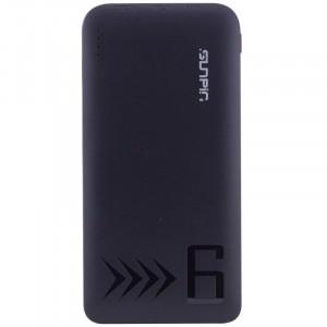 SunPin G60 | Компактное портативное зарядное устройство Power Bank (6000mAh  2 USB 2.1A) для Samsung Galaxy S9 (G960F)