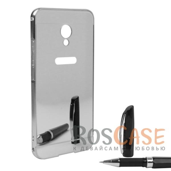 Защитный металлический бампер с зеркальной вставкой для Meizu MX6 (Серебряный)Описание:разработан для Meizu MX6;материалы - металл, акрил;тип - бампер с задней панелью.<br><br>Тип: Чехол<br>Бренд: Epik<br>Материал: Металл