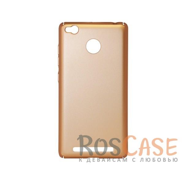 Матовая soft-touch накладка Joyroom из ударостойкого пластика с дополнительной защитой углов для Xiaomi Redmi 3 Pro / Redmi 3s (Золотой)Описание:бренд - Joyroom;совместимость - Xiaomi Redmi 3 Pro / Redmi 3s&amp;nbsp;/ Redmi 3x;материал - пластик;тип - накладка.<br><br>Тип: Чехол<br>Бренд: Epik<br>Материал: Пластик