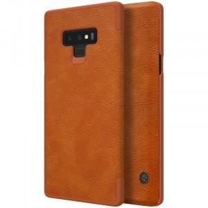 Nillkin Qin натур. кожа | Чехол-книжка для Samsung Galaxy Note 9