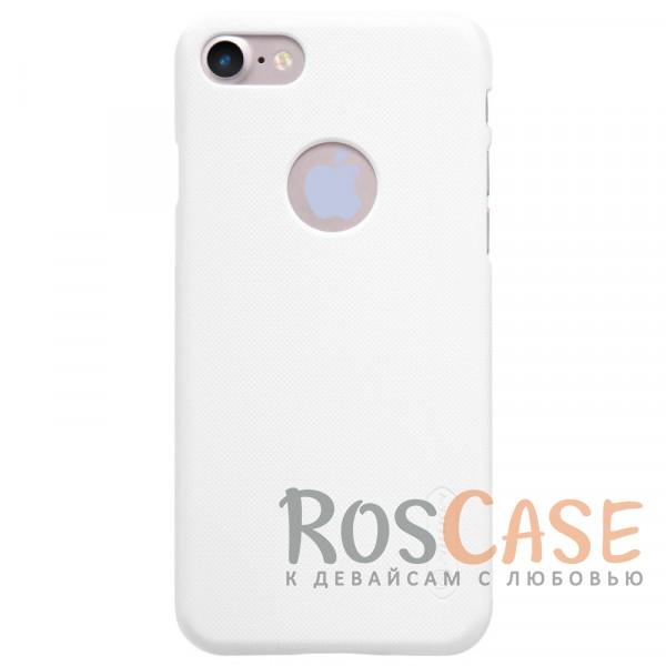 Матовый чехол Nillkin Super Frosted Shield для Apple iPhone 7 / 8 (4.7) (+ пленка) (Белый)Описание:бренд&amp;nbsp;Nillkin;спроектирована для&amp;nbsp;Apple iPhone 7 / 8 (4.7);материал - поликарбонат;тип - накладка.Особенности:фактурная поверхность;защита от ударов и царапин;тонкий дизайн;наличие функциональных вырезов;пленка на экран в комплекте.<br><br>Тип: Чехол<br>Бренд: Nillkin<br>Материал: Поликарбонат