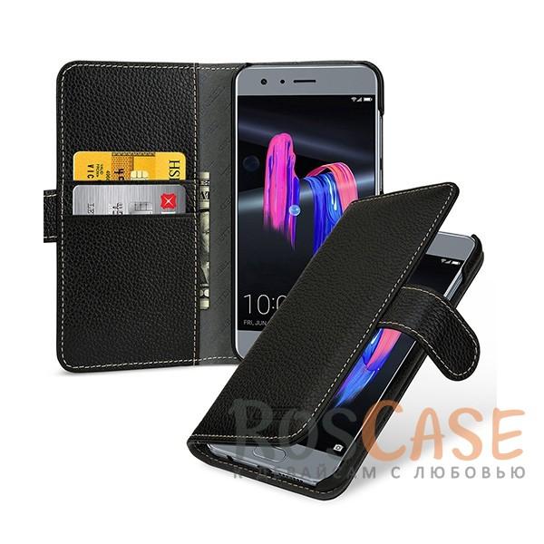 Прошитый чехол-книжка из натуральной кожи TETDED Gerzat с магнитной застежкой для Huawei Honor 9 (Черный / Black)Описание:бренд  - &amp;nbsp;Tetded;разработан для Huawei Honor 9;материал  -  натуральная кожа;тип  -  чехол-книжка.в наличии все функциональные вырезы;легко устанавливается;строчка по периметру;магнитная застежка;внутренние кармашки для визиток;защита от механических повреждений;на чехле не заметны следы от пальцев.<br><br>Тип: Чехол<br>Бренд: TETDED<br>Материал: Натуральная кожа