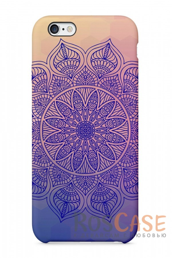 """Фото Фиолетовый Орнамент Пластиковый чехол RosCase """"Узоры"""" для iPhone 6/6s (4.7"""")"""