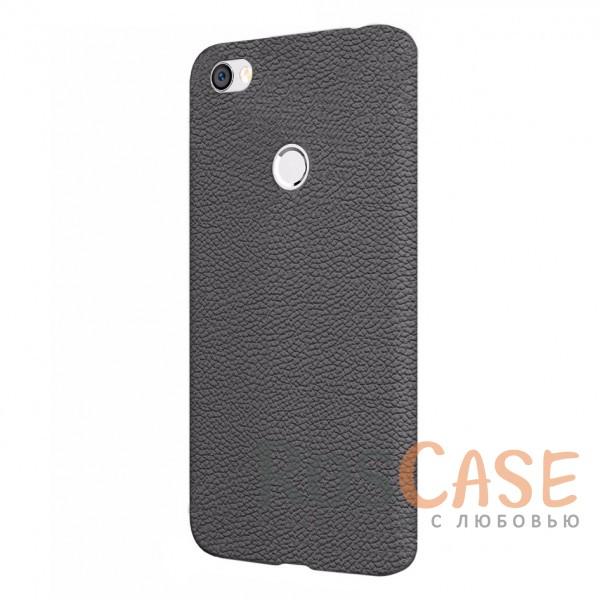 Фактурный силиконовый чехол с имитацией кожи для Xiaomi Redmi Note 5A (Черный)Описание:совместимость - Xiaomi Redmi Note 5A&amp;nbsp;;тип - накладка;материал - силикон;защита задней панели и боковых граней;не скользит в руках;не заметны отпечатки пальцев;ультратонкий дизайн;фактурная поверхность с имитацией кожи;все необходимые функциональные вырезы.<br><br>Тип: Чехол<br>Бренд: Epik<br>Материал: Силикон