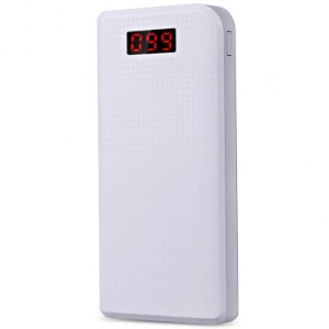 Remax PPL-14 | Портативное зарядное устройство Power Bank с фонариком на 2 USB (30000 mAh) для Samsung Galaxy J7 2015 (J700F)