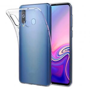 Прозрачный силиконовый чехол для Samsung Galaxy A60