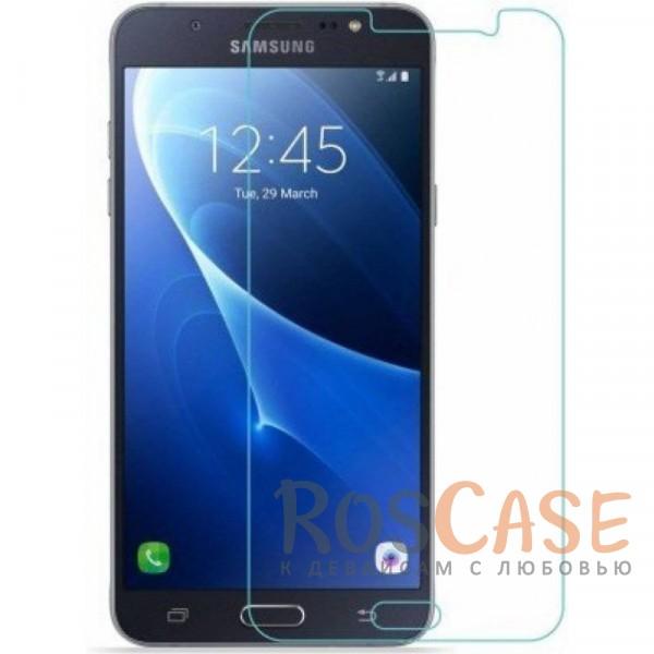 Ультратонкое стекло с закругленными краями для Samsung J530 Galaxy J5 (2017) (в упаковке)Описание:совместимо с&amp;nbsp;Samsung J530 Galaxy J5 (2017);материал: закаленное стекло;тип: защитное стекло на экран;защищает от ударов и царапин;ультратонкое - 0,33 мм;прозрачное;закругленные грани;легко устанавливается.<br><br>Тип: Защитное стекло<br>Бренд: Epik