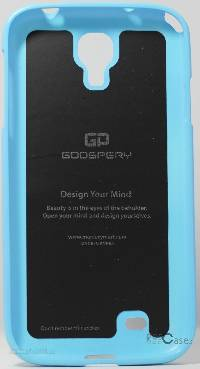 фото Голубой TPU чехол Mercury Jelly Color series для Samsung i9500 Galaxy S4