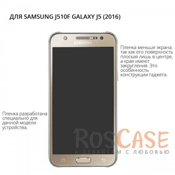 Изображение Прозрачная Защитная пленка для Samsung J510F Galaxy J5 (2016)