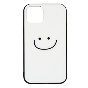 Силиконовый чехол со стеклянной вставкой  для Apple iPhone 11 Pro Max