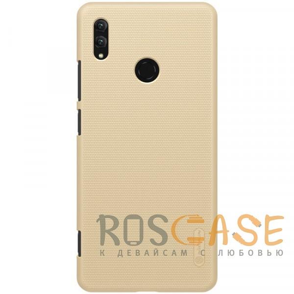 Фото Золотой Nillkin Super Frosted Shield | Матовый чехол для Huawei Honor Note 10