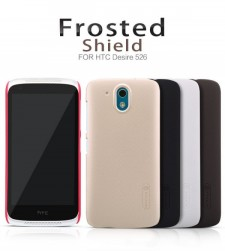 фото Матовый чехол Nillkin Super Frosted Shield для HTC Desire 526/526G / Desire 326G (+ пленка)