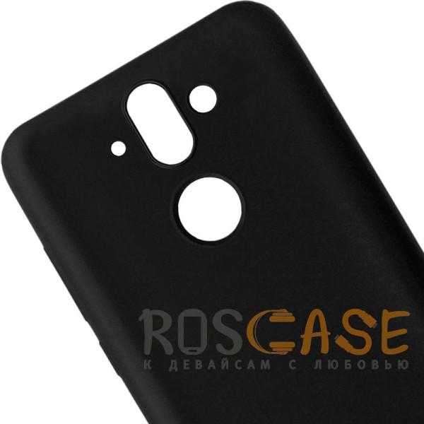 Изображение Черный J-Case THIN | Гибкий силиконовый чехол для Nokia 8 Sirocco