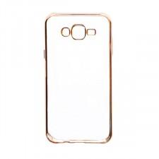 Силиконовый чехол для Samsung J700H Galaxy J7 с глянцевой окантовкой