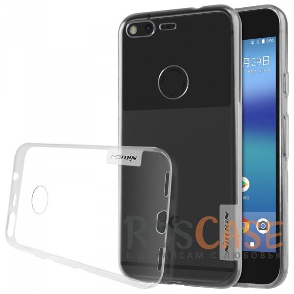 Мягкий прозрачный силиконовый чехол для Google Pixel (Бесцветный (прозрачный))Описание:бренд:&amp;nbsp;Nillkin;совместимость: Google Pixel;материал: термополиуретан;тип: накладка;ультратонкий дизайн;прозрачный корпус;не скользит в руках;защищает от механических повреждений.<br><br>Тип: Чехол<br>Бренд: Nillkin<br>Материал: TPU