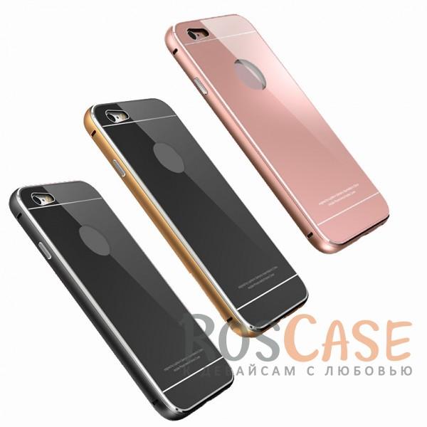 Металлический бампер LUPHIE Metal Frame с глянцевой панелью для Apple iPhone 6/6s (4.7)Описание:бренд -&amp;nbsp;Luphie;материал - алюминий, акриловое стекло;совместим с Apple iPhone 6/6s (4.7);тип - бампер со вставкой.Особенности:акриловая вставка;прочный алюминиевый бампер;в наличии все вырезы;ультратонкий дизайн;защита устройства от ударов и царапин.<br><br>Тип: Чехол<br>Бренд: Luphie<br>Материал: Металл
