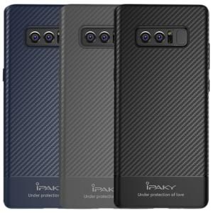 iPaky Musy | Ультратонкий чехол для Samsung Galaxy Note 8 с карбоновым покрытием