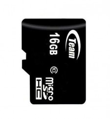 фото Карта памяти Team microSDHC 16 GB Card Class 10 + SD adapter