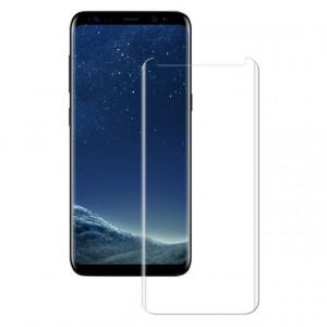 Прозрачное защитное 3D стекло с изогнутыми краями для Samsung G950 Galaxy S8