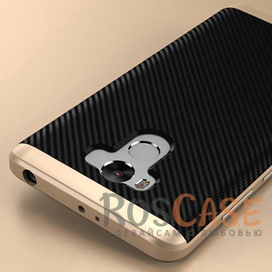 Чехол iPaky TPU+PC для Xiaomi Redmi 4 Pro / Redmi 4 Prime (Черный / Золотой)Описание:производитель - iPaky;разработан для Xiaomi Redmi 4 Pro / Redmi 4 Prime;материал: термополиуретан, поликарбонат;форма: накладка на заднюю панель.Особенности:эластичный;рельефная поверхность;прочная окантовка;ультратонкий;надежная фиксация.<br><br>Тип: Чехол<br>Бренд: Epik<br>Материал: TPU