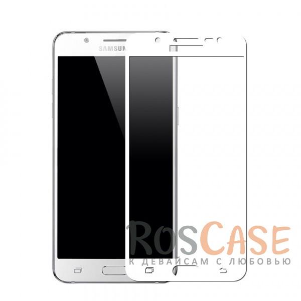 Защитное стекло с цветной рамкой на весь экран с олеофобным покрытием анти-отпечатки для Samsung J530 Galaxy J5 (2017) (Белый)Описание:совместимо с Samsung J530 Galaxy J5 (2017);материал: закаленное стекло;тип: защитное стекло на экран;полностью закрывает дисплей;толщина - 0,3 мм;цветная рамка;прочность 9H;покрытие анти-отпечатки;защита от ударов и царапин.<br><br>Тип: Защитное стекло<br>Бренд: Epik