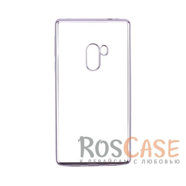 Прозрачный силиконовый чехол для Xiaomi Mi Mix с глянцевой окантовкой (Серебряный)Описание:совместим с Xiaomi Mi MIX;глянцевая окантовка;материал - TPU;тип - накладка.<br><br>Тип: Чехол<br>Бренд: Epik<br>Материал: TPU
