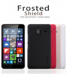 фото Матовый чехол Nillkin Super Frosted Shield для Microsoft Lumia 640XL (+ пленка)