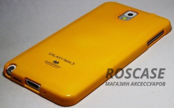 фото Желтый TPU чехол Mercury Jelly Color series для Samsung N9000/N9002 Galaxy Note 3