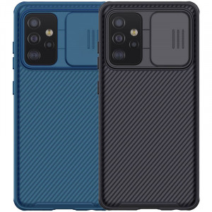 Nillkin CamShield Pro | Чехол из пластика и TPU с защитой камеры  для Samsung Galaxy A52