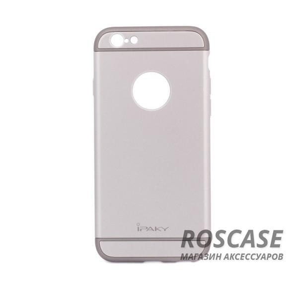 Чехол iPaky Joint Series для Apple iPhone 6/6s (4.7) (Серый)Описание:производитель: iPaky;совместимость: смартфон Apple iPhone 6/6s (4.7);материал: пластик;форм-фактор: накладка.Особенности:узнаваемый и стильный дизайн;надежная система фиксации;прочный и износостойкий;не деформируется;не скользит в руках и на поверхности.<br><br>Тип: Чехол<br>Бренд: Epik<br>Материал: Пластик