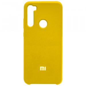 Silicone Cover | Чехол силиконовый с микрофиброй для Xiaomi Redmi Note 8