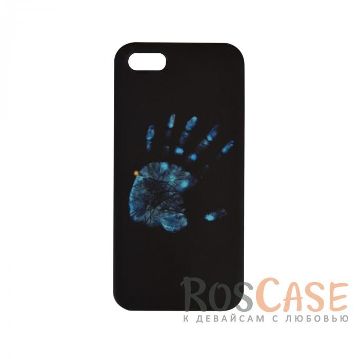 Фото Оригинальный чехол «Отпечаток руки» для Apple iPhone 5/5S/SE