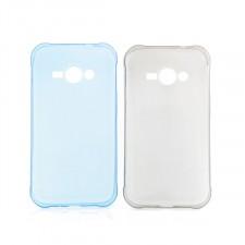 Ультратонкий силиконовый чехол для Samsung J110 Galaxy J1 Duos