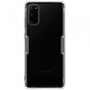 Nillkin Nature | Прозрачный силиконовый чехол  для Samsung Galaxy S20